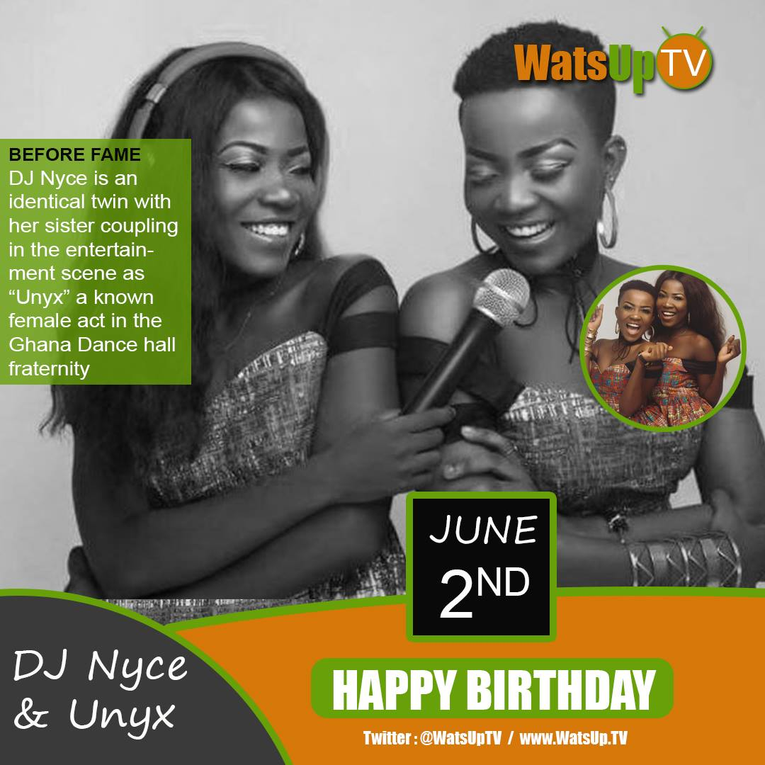 Happy Birthday DJ Nyce & Unyx