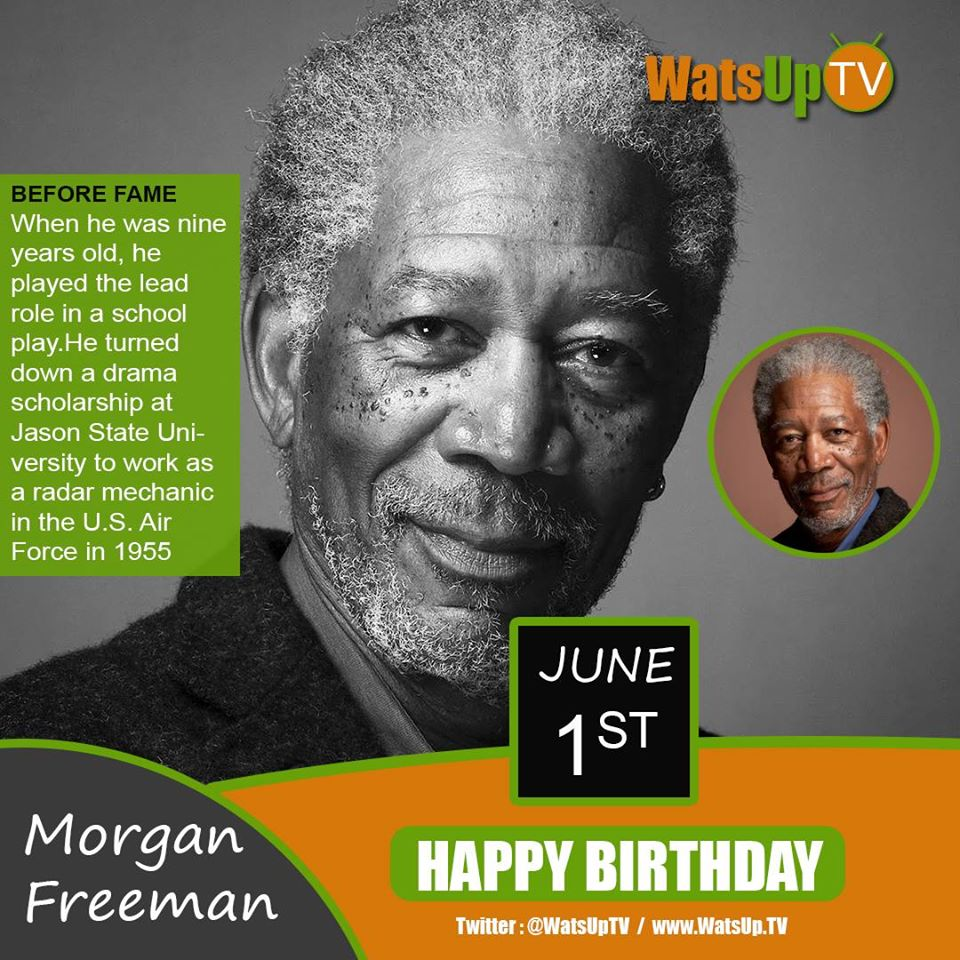 Happy Birthday #Morgan Freeman