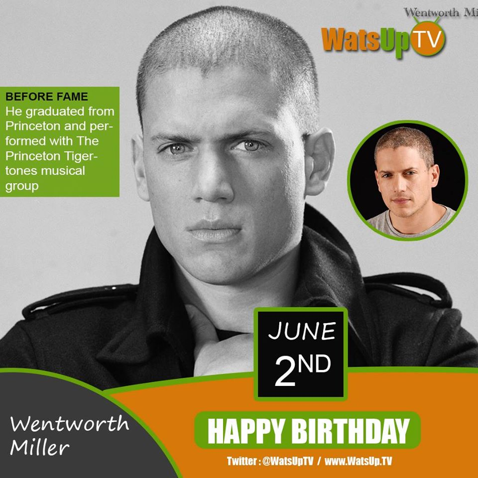 Happy Birthday #Wentworth Miller