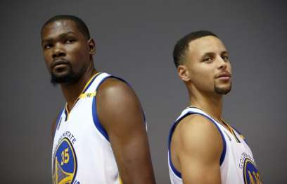 Golden State top tip in NBA GMs poll