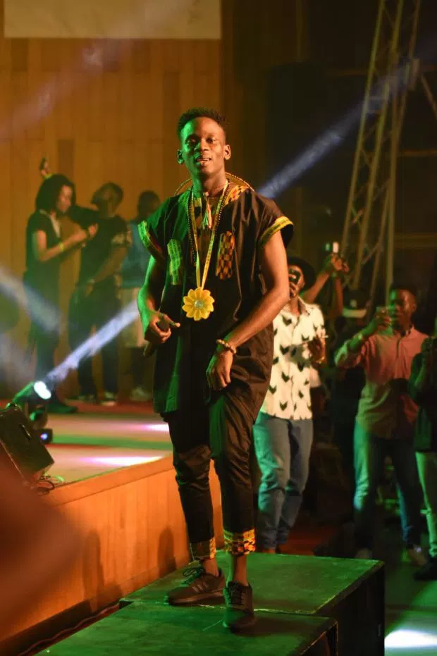 Mr Eazi kicks off 'Life is Eazi' campus tour in KNUST with Pappykojo, Medikal and more;
