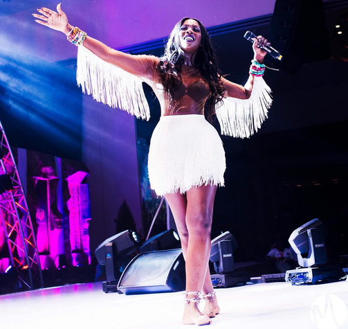All the ways Tiwa Savage looked fabulous at her 3 Thrones concert