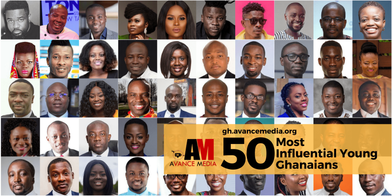 50 Most Influential Young Ghanaians 2017 Announced