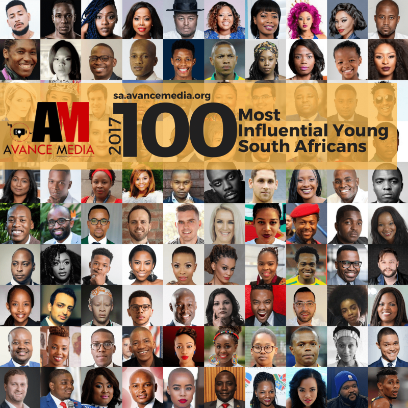 Nominees for 2017 100 Most Influential Young South Africans Ranking Announced