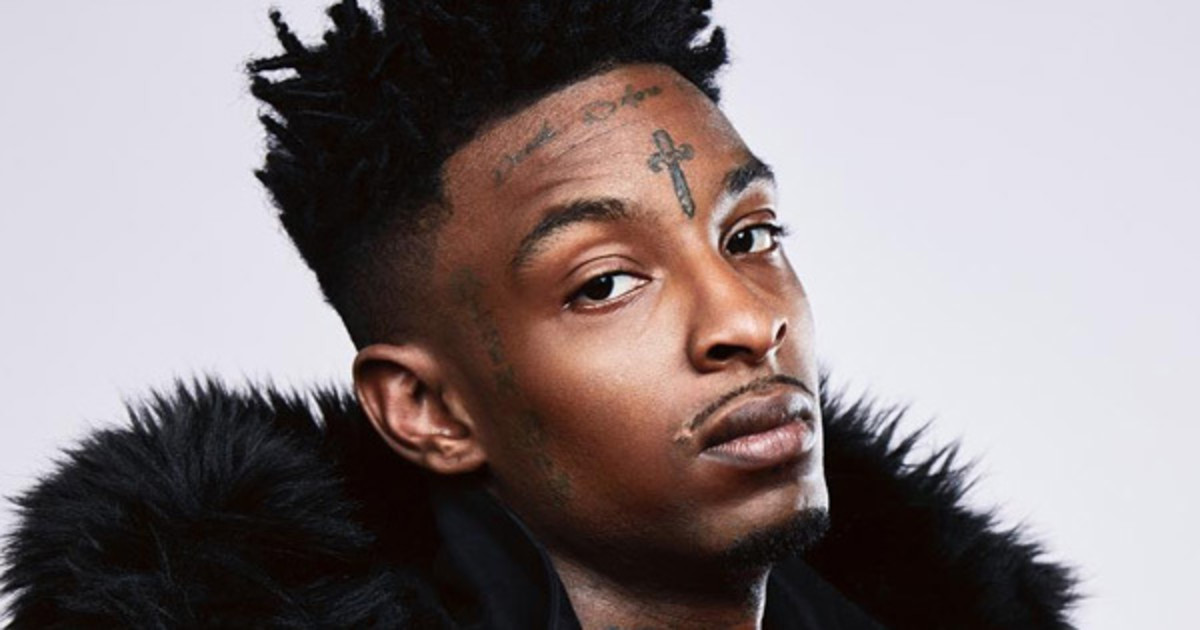 21 Savage Says Working With Beyonce or Rihanna Would Be a 'Dream Come True': Watch