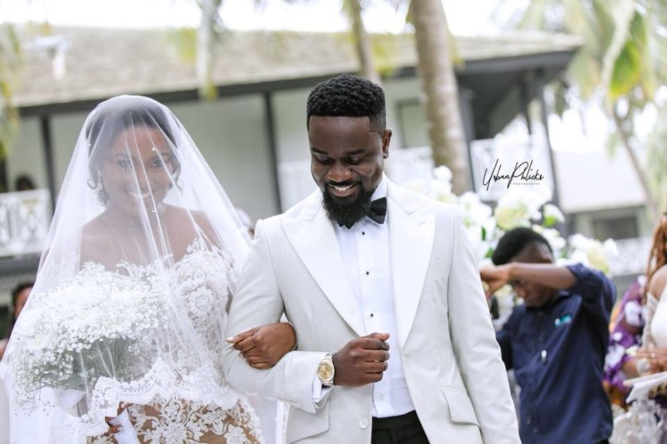 See the most fashionable celebs who attended king sark and queen tracy wedding