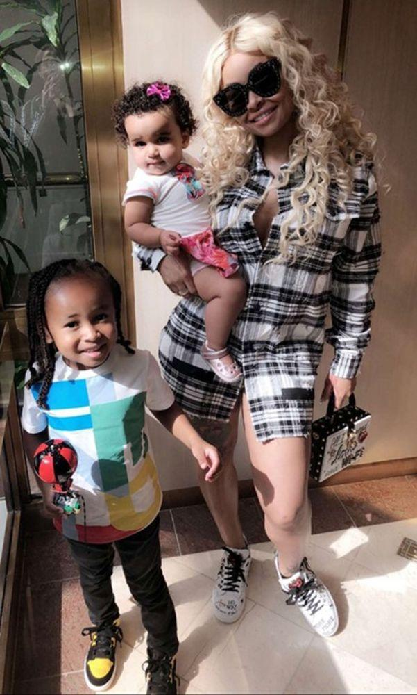 Blac Chyna Blasts Rob Kardashian and Tyga on Father's Day: 'No Child Support'