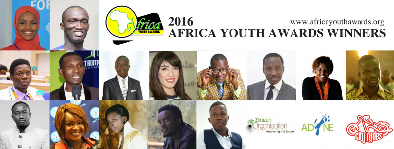 Full List: 2016 Africa Youth Awards Winners