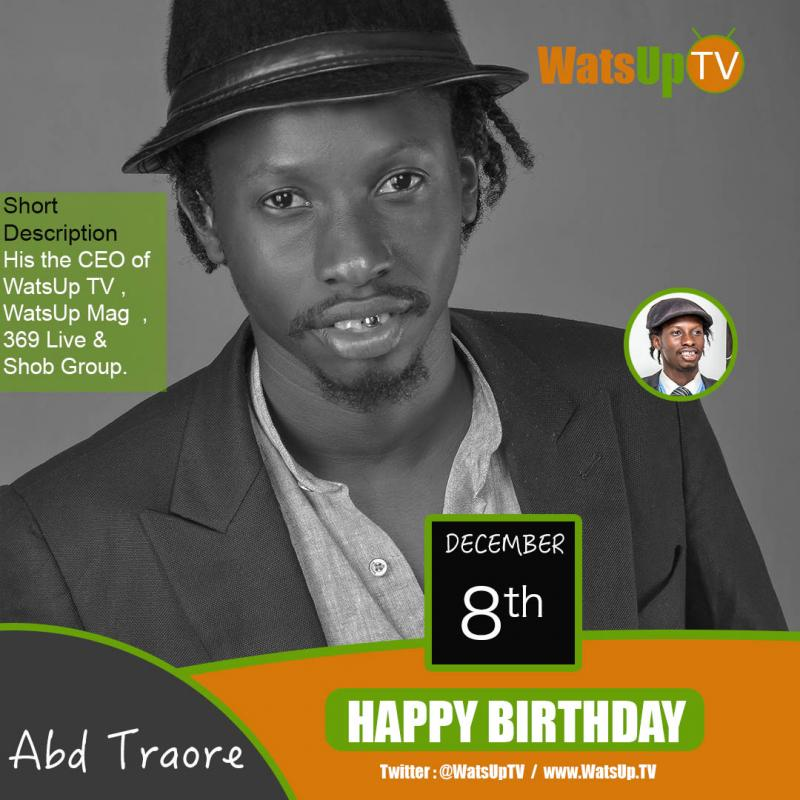 Happy birthday abd traore