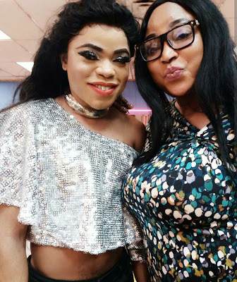 New Photos Of Bobrisky Wearing A Crop Top At An Event, Hits The Internet