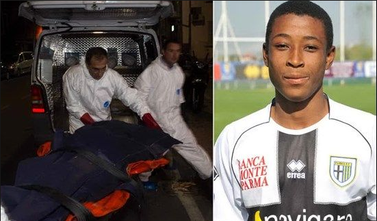 Ghanaian footballer in Italy confesses to killing his mother and sister