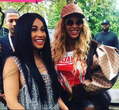 Cardi B likens herself to Beyonce as she defends her decisions to marry Offset even though he'd been unfaithful