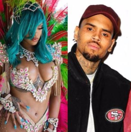 Lol! Fans attack Chris Brown for commenting on Rihanna's curvy post on Instagram