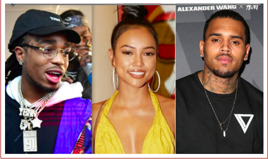 Chris Brown says Quavo from Migos betrayed him by dating Karrueche Tran
