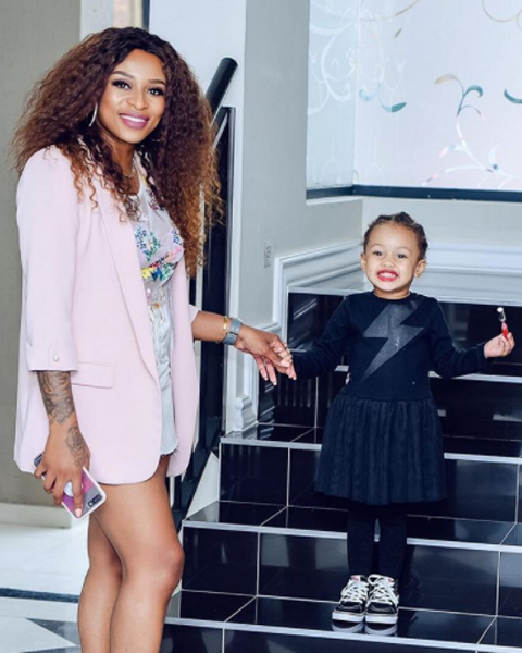 DJ Zinhle On AKA: Good co-Parenting Comes From A Good Relationship.