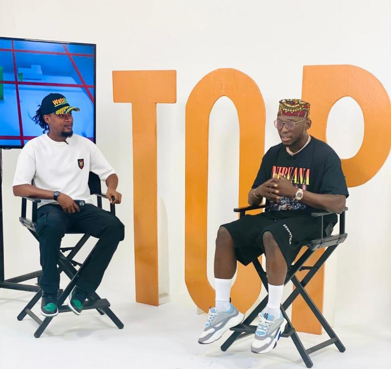 DJ Spinall Drops New Video With Fire Boy Titled Sere On WatsUp TV