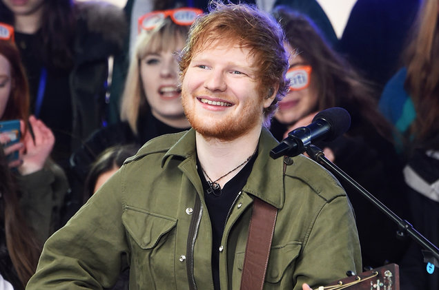 Ed Sheeran's 'Divide' grabs the Top selling album on Billboard
