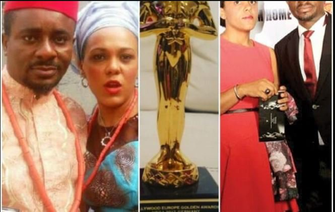 """I Dedicate This Award To All The Loving Men And Women, Who Died In The Hands Of Their Beloved Spouses""- Emeka Ike Shades Ex-Wife"