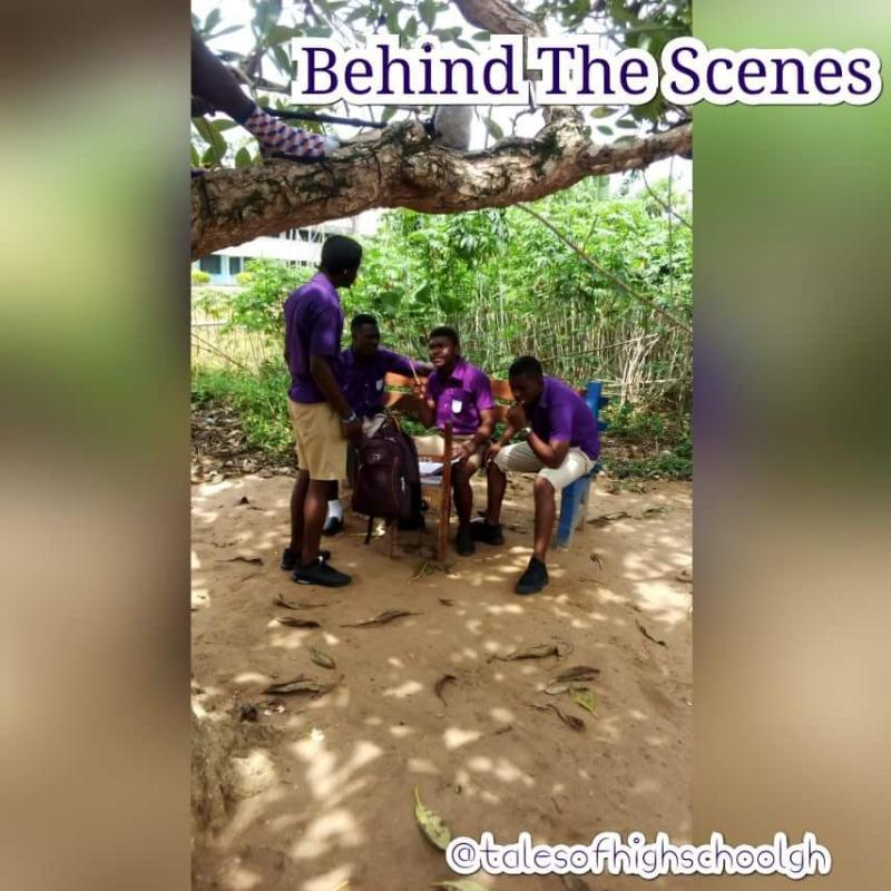 Teaser Of A New Upcoming Ghana High School Series Called TALES OF HIGH SCHOOL