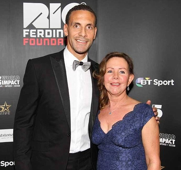 Ex-footballer, Rio Ferdinand Loses Mom, 58, To Breast Cancer 2years After Wife Died Of The Same Disease