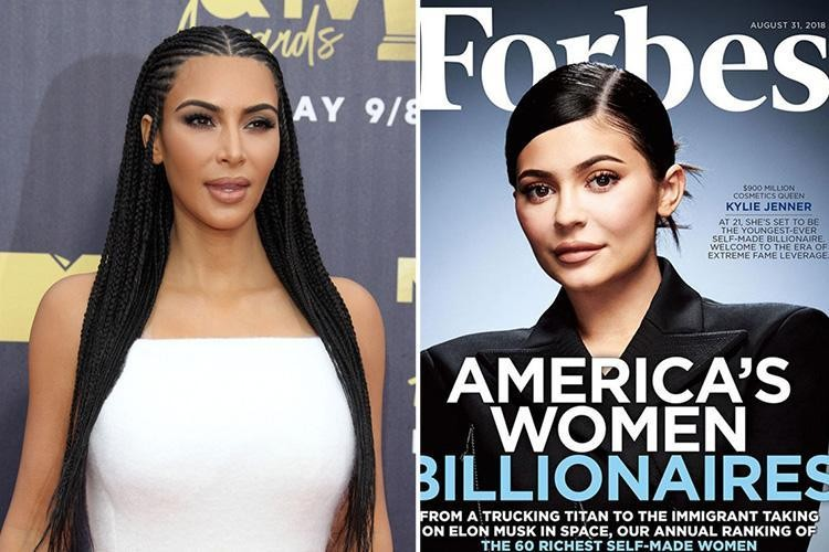 Kim Kardashian defends Kylie Jenner's Forbes cover, says entire family is