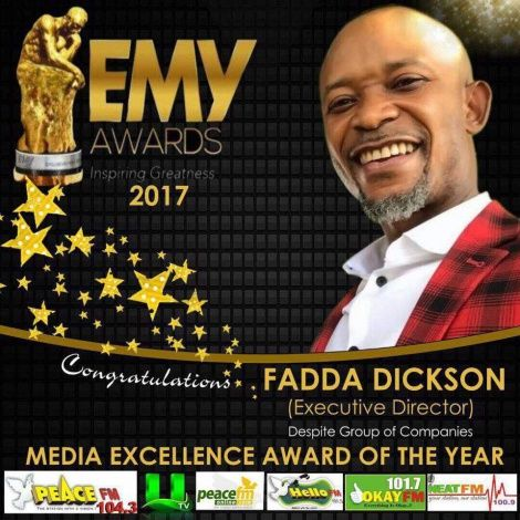 Fadda Dickson, Others Honored At Exclusive Men of The Year Awards 2017