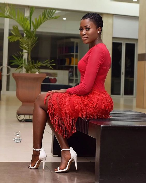 Fella Makafui cries at the launch of her new business