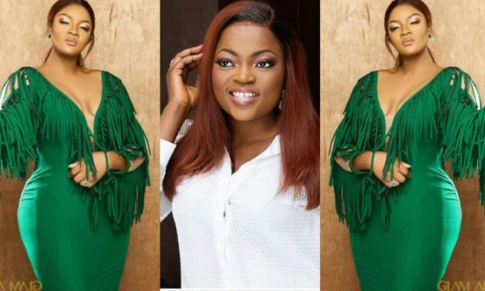 Funke Akindele Speaks To Omotola Jalade On Instagram Amidst Rivalry War