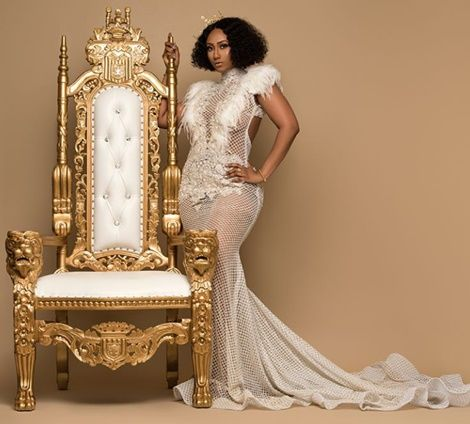 'queen' hajia4real shares birthday photos