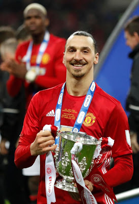 Self Confessed 'god' Zlatan Ibrahimovic Shocks Doctors With Quick Recovery, Set To Be Offered New Deal By Man U