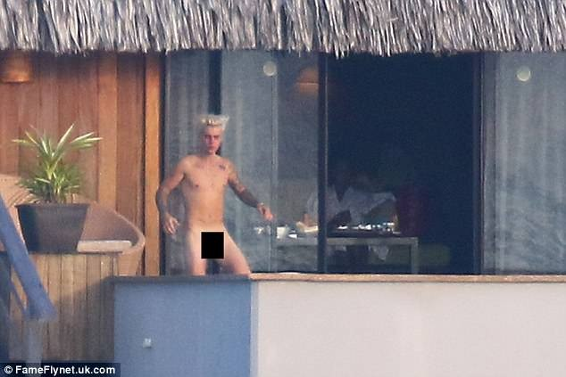 Justin Bieber's leaked nude photos exposing his private parts spike Spotify Australia streams of his music by 600%