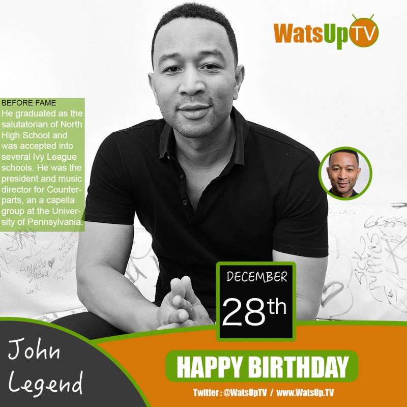 Happy birthday john legend
