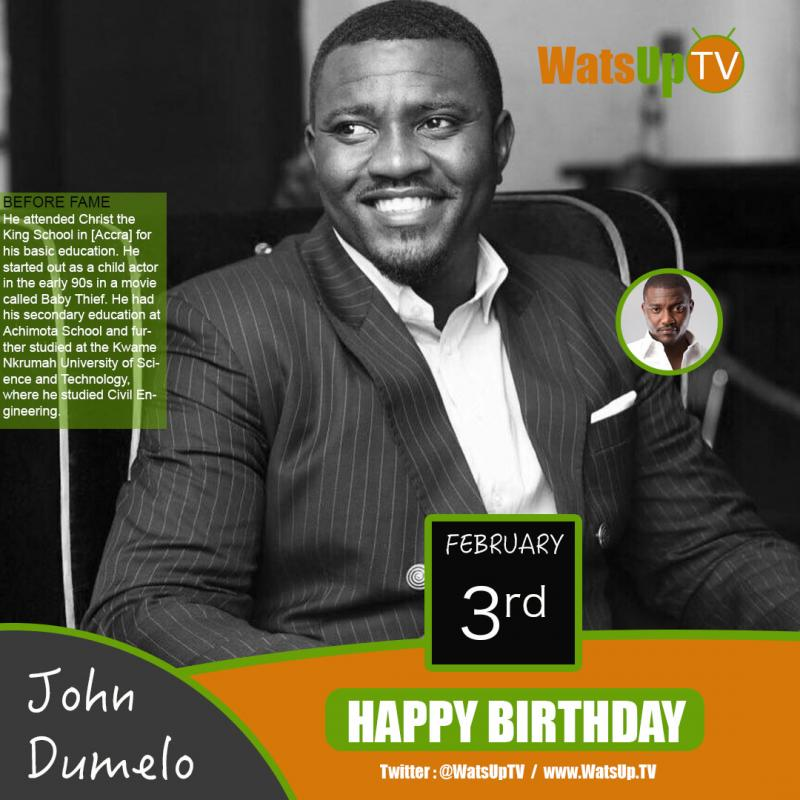 Happy Birthday  John Dumelo