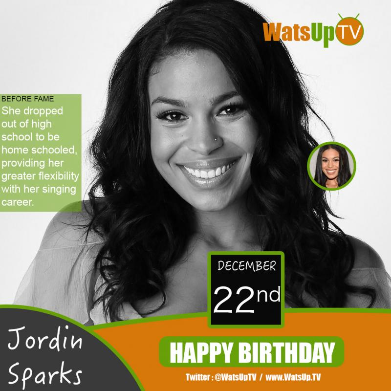 Happy birthday jordin sparks