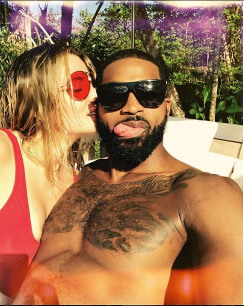 Khloé Kardashian shares sweet  selfie with her boo Tristan Thompson