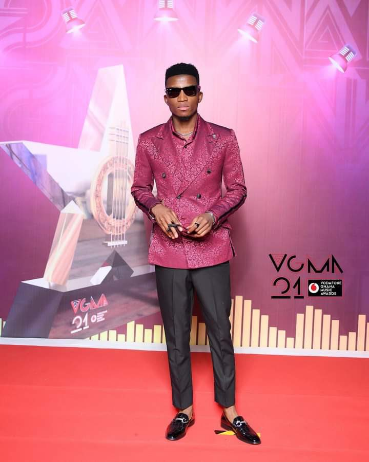 Kofi Kinaata; First artiste to win 'Songwriter of the Year Award' thrice