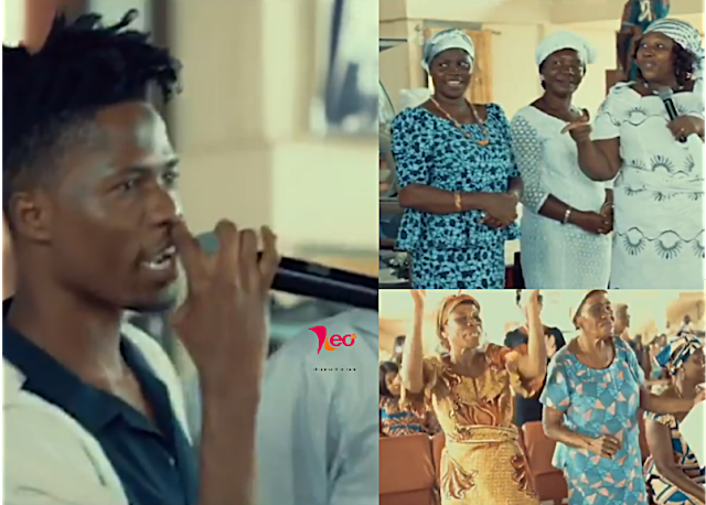 Kwesi Arthur performs latest song 'Woara' at Church