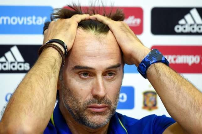 Lopetegui sacked by Spain on eve of World Cup