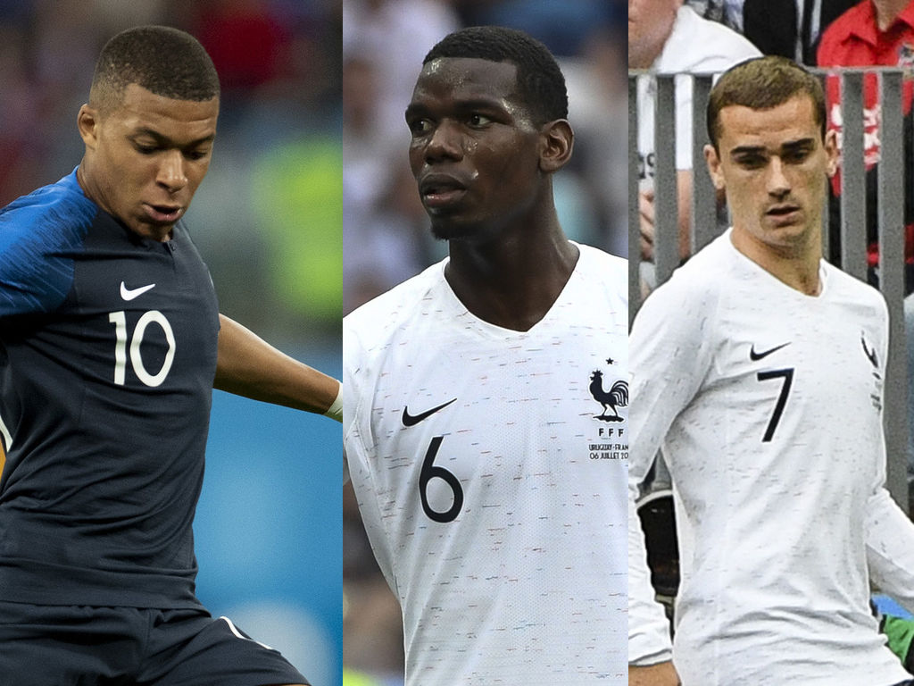 Mbappé, Pogba, Griezmann: all the salaries of the players of the France team