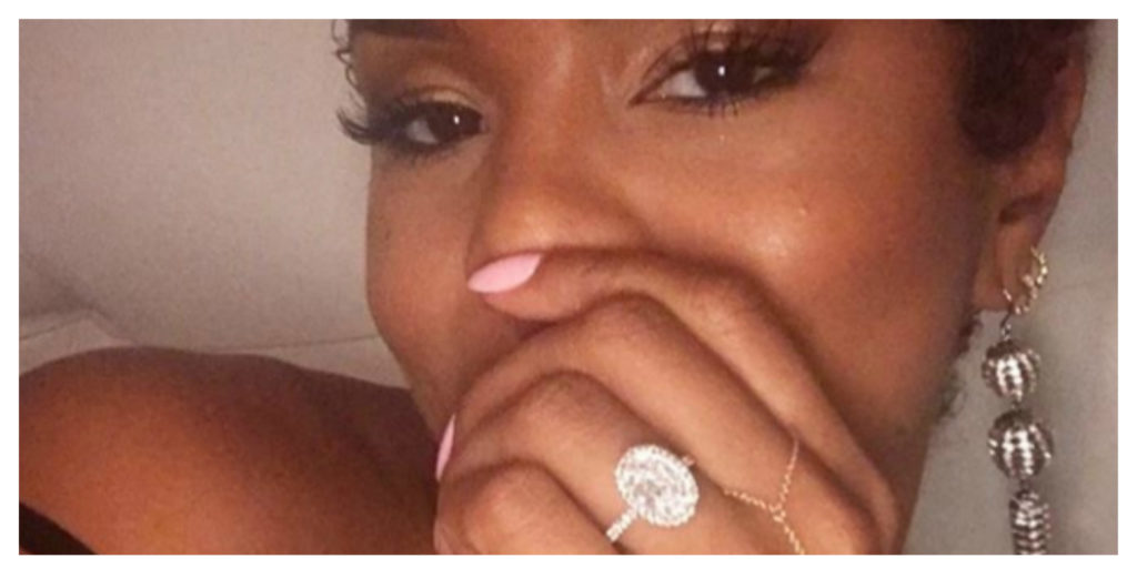 (Video) After Recent Divorce Letoya Luckett Is Engaged Again