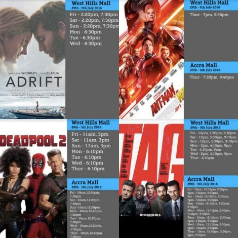 Ant-man & Adrift Showing At Silverbird Cinemas
