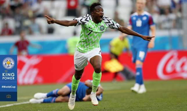 Super Eagles forward nominated for goal of the World Cup