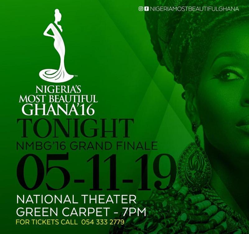 NIGERIA'S MOST BEAUTIFUL GHANA grand finale tonight 5 November 2016