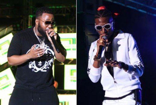 OCTOPIZZO TONGUE LASHES SOUTH AFRICAN ARTISTE CASSPER NYOVEST ON STAGE