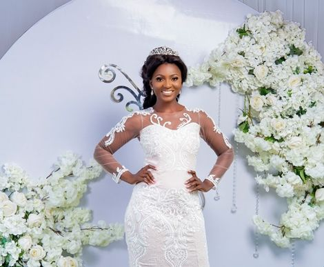 Ahuofe Patri The Bride — Check Out Actress's Wedding Themed Photoshoot (PHOTOS)