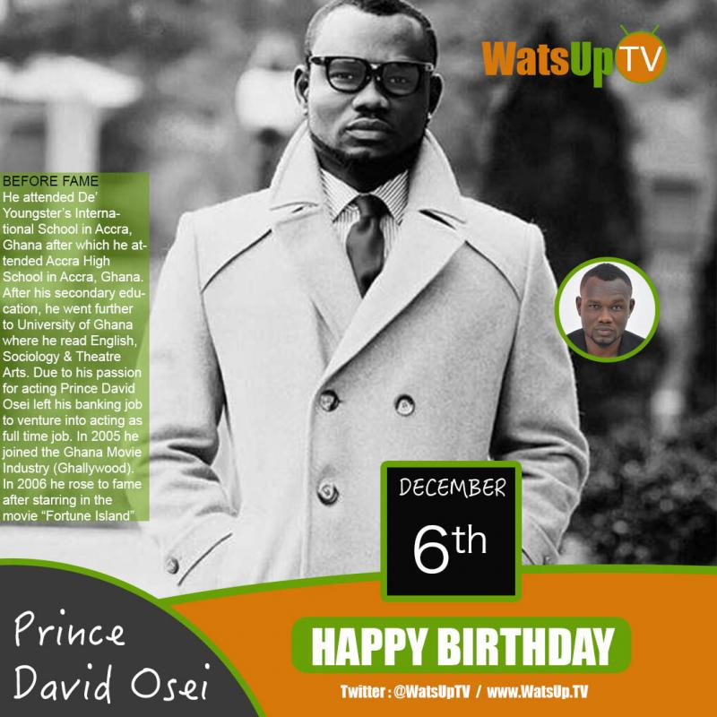 Happy birthday prince david osei