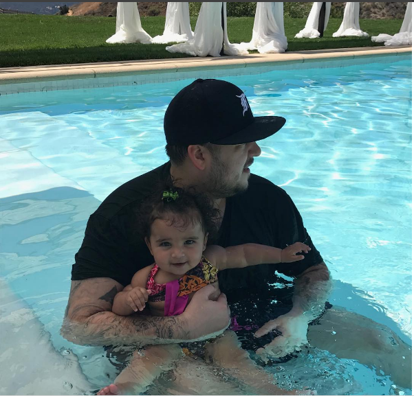 Rob Kardashian Shares Lovely Photos With Daughter, Dream