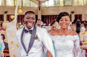 William and Abigail Fii Sey tie the knot