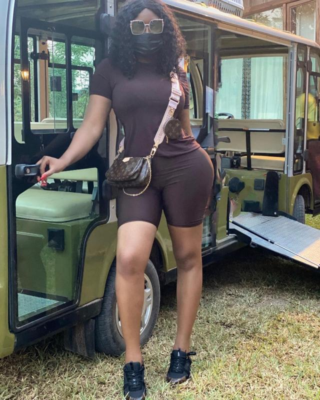 Have You Caught Sandra Ankobiah Living Her Best LIfe In The Air? (VIdeo)
