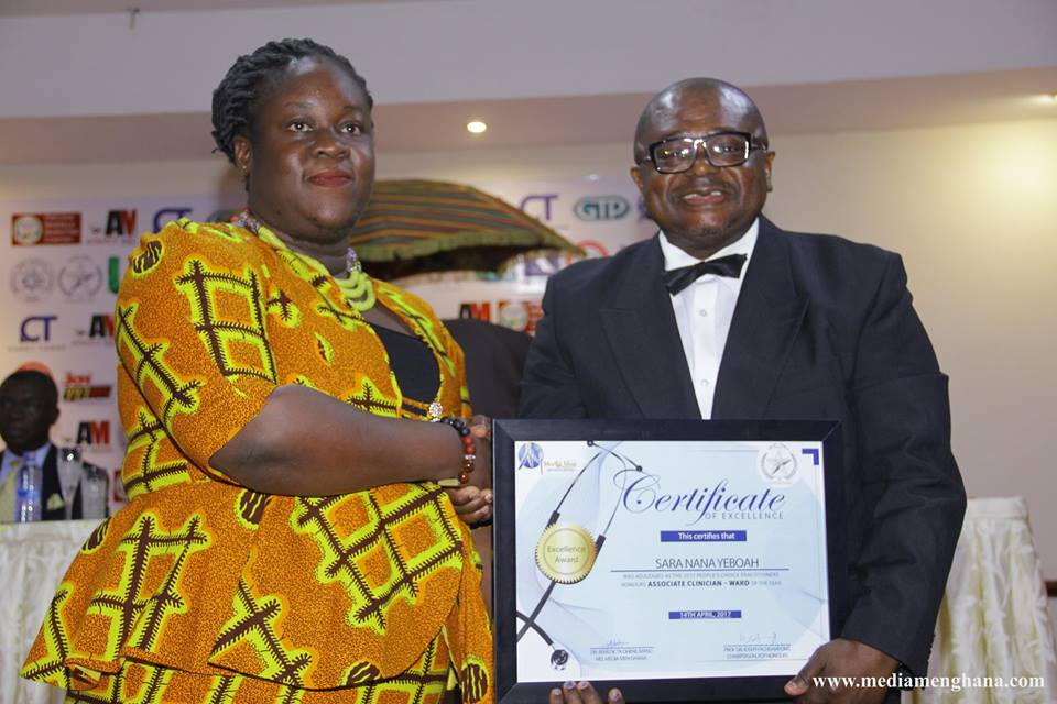 Sara Nana Yeboah awarded Most Outstanding Associate Ward Clinician